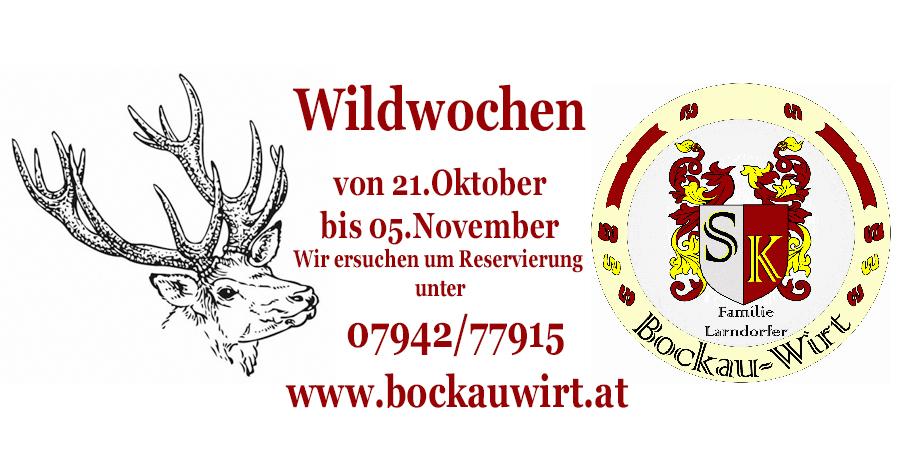 Grafik Wildwoche Bockauwirt Freistadt